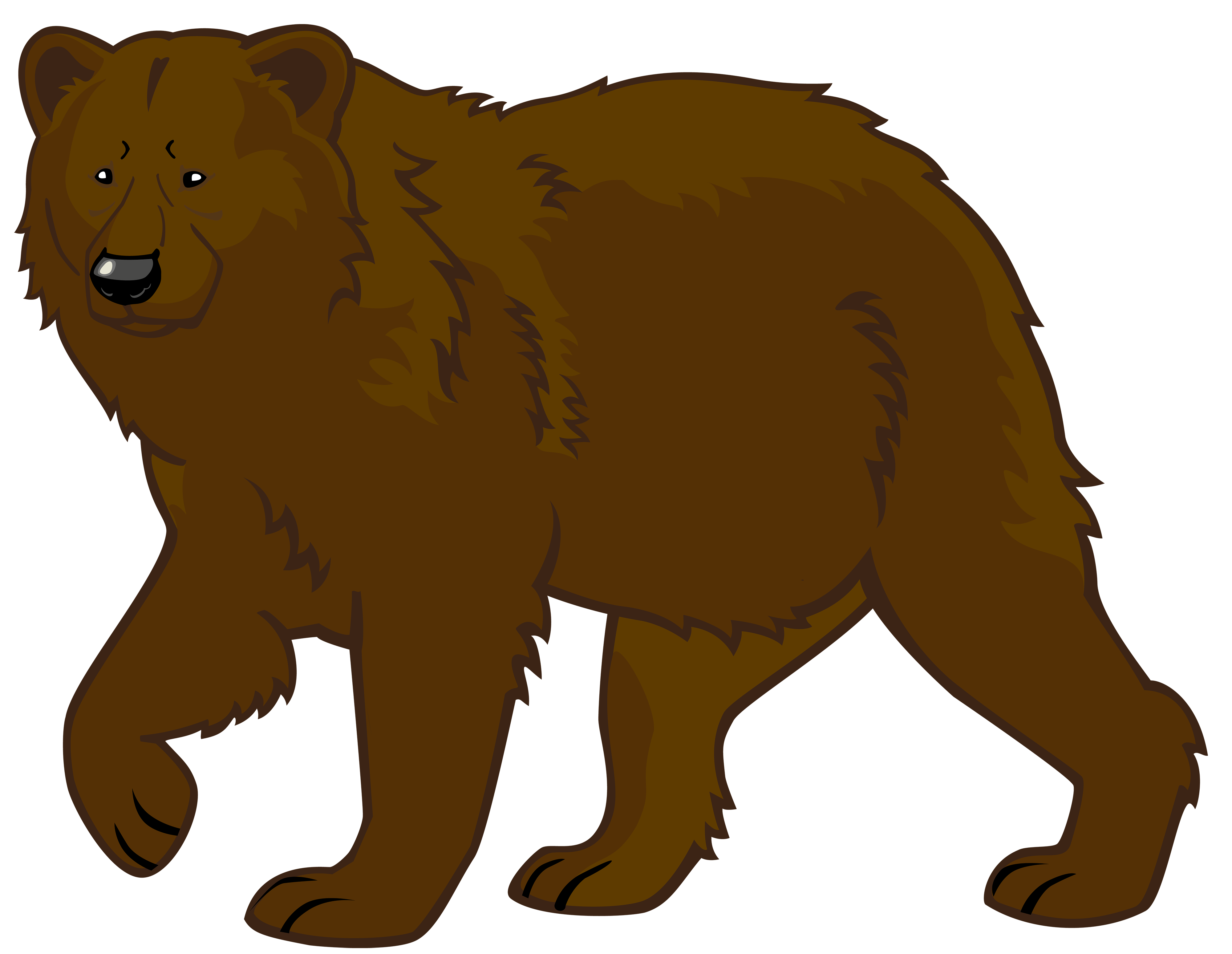 Cute school bear clipart image freeuse library Brown Bear PNG Clipart - Best WEB Clipart image freeuse library