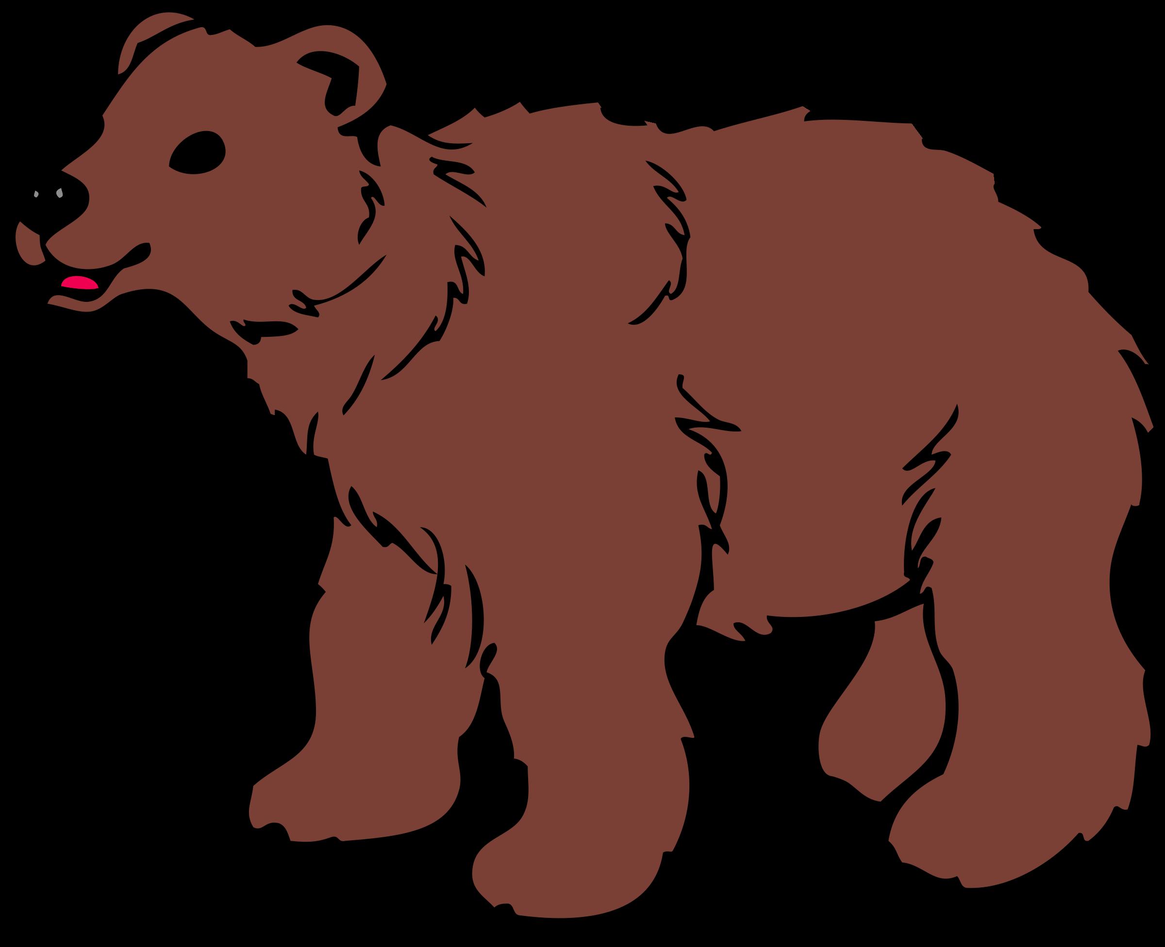 Bear art clipart image transparent Cartoon Bear Cub Clipart | Free download best Cartoon Bear Cub ... image transparent