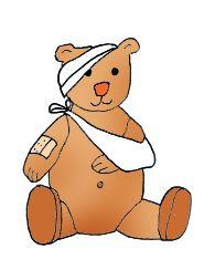 Bear art clipart vector royalty free medical clip art teddy bear sick plaster | Party - Teddy Bear\'s ... vector royalty free