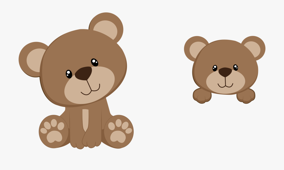 Bear baby clipart graphic freeuse stock Twins Clipart Baby Shower - Transparent Background Teddy Bear ... graphic freeuse stock