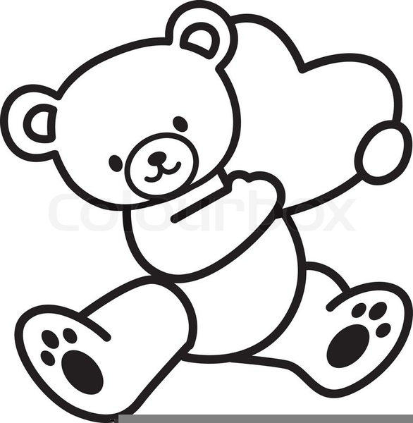 Bear black and white clipart freeuse library Brown Bear Black And White Clipart | Free Images at Clker.com ... freeuse library
