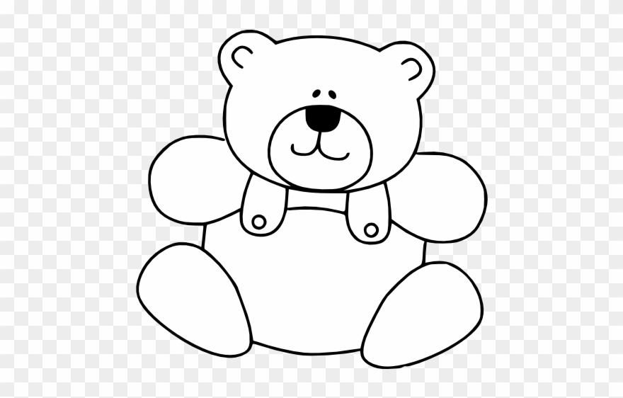 Bear black and white clipart picture black and white download Teddy Bear Images, White Teddy Bear, Teddy Bears, Teddy - Teddy Bear ... picture black and white download