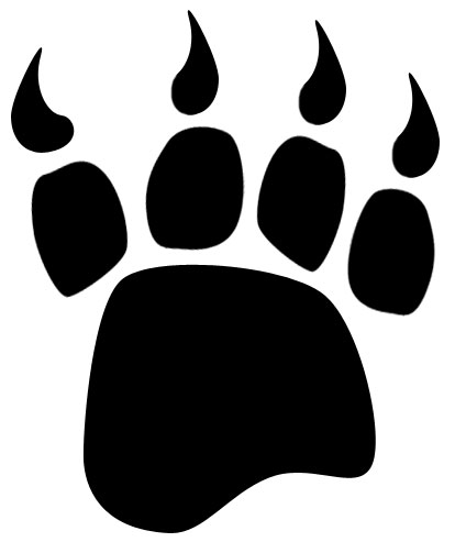 Bear black and white clipart bear paw clipart transparent stock Bear Paw Clipart Black And White | Clipart Panda - Free Clipart Images clipart transparent stock