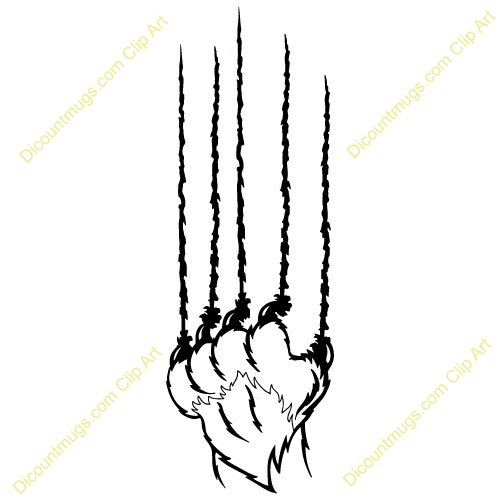 Bear claw marks clipart image transparent download Download Free png Bear Claw Marks Clipart - DLPNG.com image transparent download