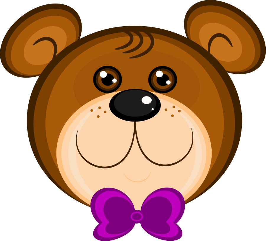 Bear clipart face clipart black and white Free Free Bear Clipart, Download Free Clip Art, Free Clip Art on ... clipart black and white