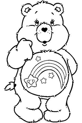 Bear clipart google coloring page image royalty free download care bear coloring pages - Google Search | jolizas stuff | Bear ... image royalty free download