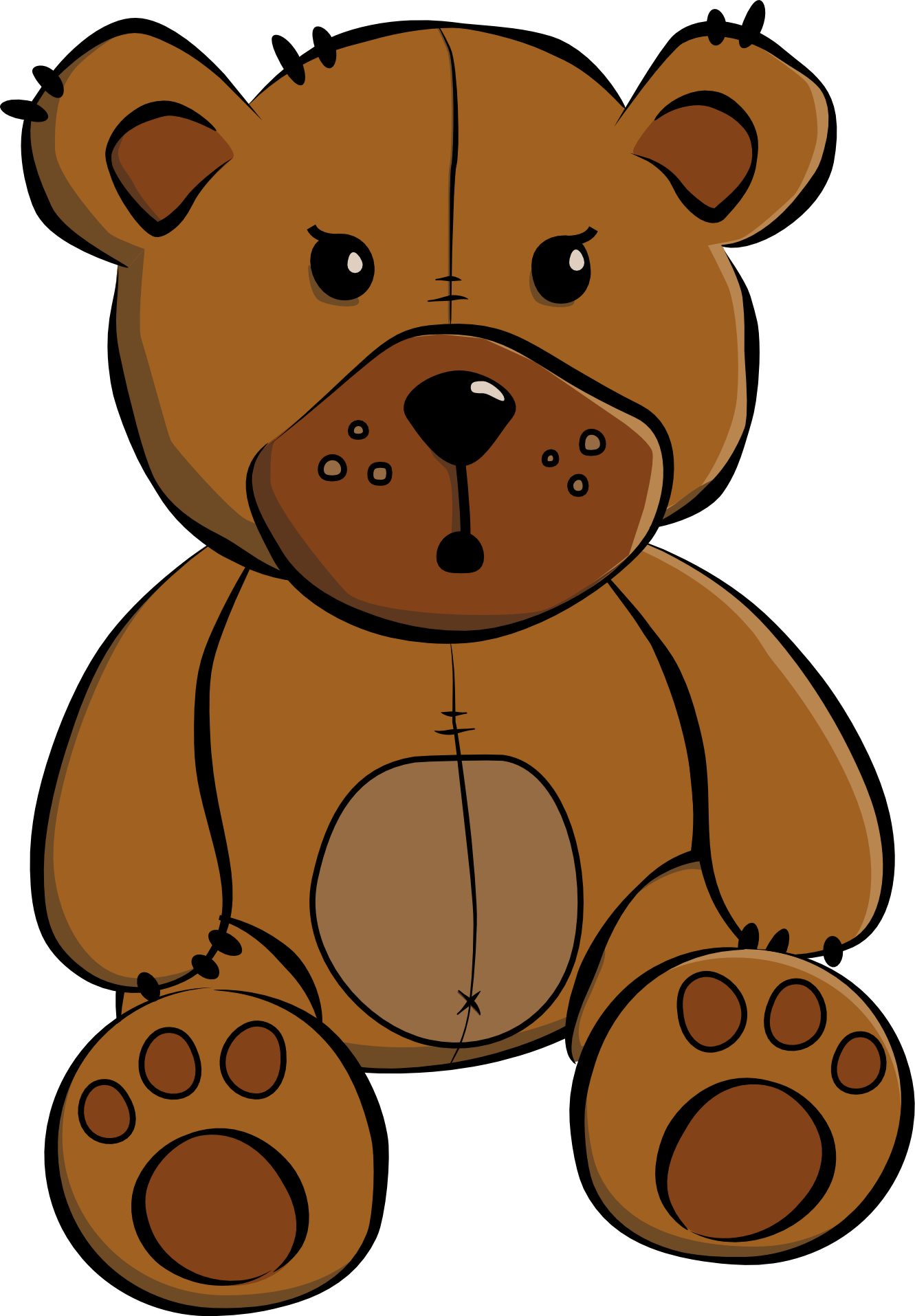 Bear halloween clipart picture royalty free Free Teddy Bear X Clipart picture royalty free