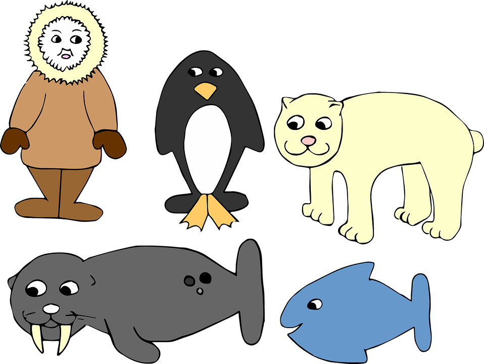 Bear clipart with fish picture download Eskimo PNG Free Transparent Eskimo.PNG Images. | PlusPNG picture download