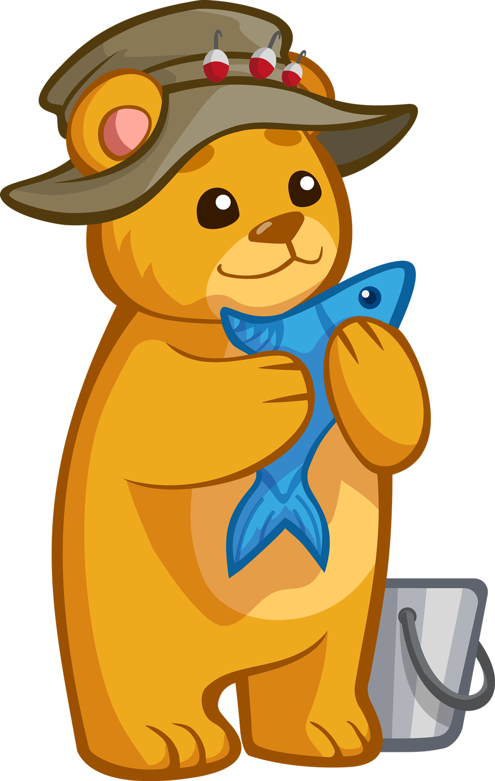 Bear clipart with fish png transparent download 28+ Collection of Bear With Fish Clipart | High quality, free ... png transparent download