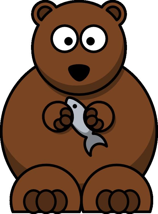 Bear clipart with fish image royalty free download Lemmling Cartoon Bear Christmas Xmas Stuffed Animal Coloring Book ... image royalty free download