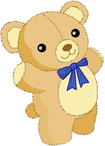 Bear doll clipart graphic royalty free stock Teddy bear doll clipart - Clip Art Library graphic royalty free stock