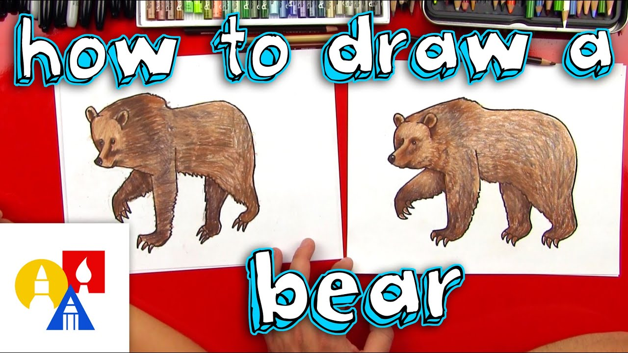 Bear eating black berry clipart svg royalty free How To Draw A Grizzly Bear (realistic) svg royalty free