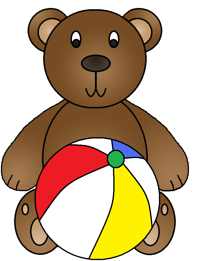 Bear eating fish clipart clip art royalty free stock Free Beach Items Clipart, Download Free Clip Art, Free Clip Art on ... clip art royalty free stock