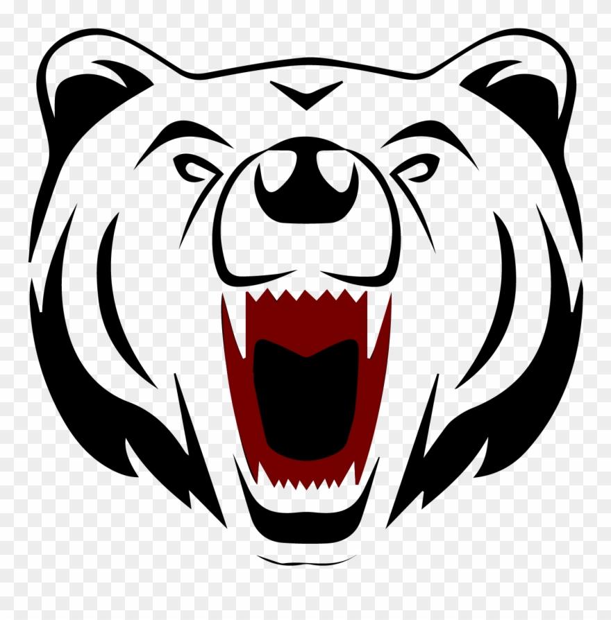 Bear face clipart jpg library download Polar Bear Face Cartoon , Png Download - Drawings Of Bear Faces ... jpg library download