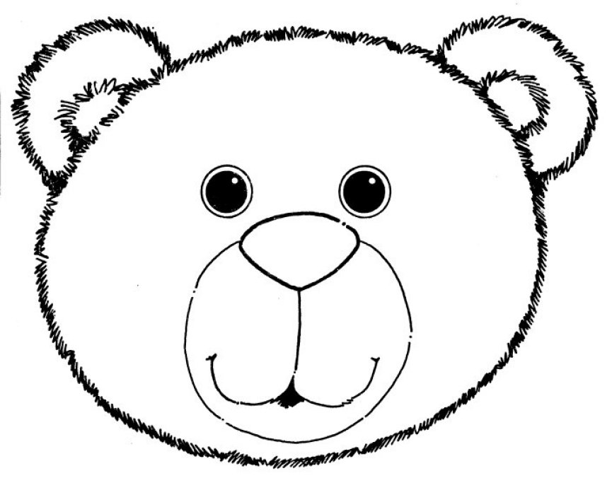 Bear face clipart black and white clip art royalty free download Free Bear Face Cliparts, Download Free Clip Art, Free Clip Art on ... clip art royalty free download