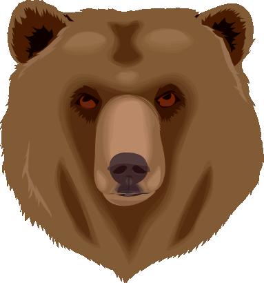 Bear face clipart free clip 51+ Bear Face Clipart | ClipartLook clip
