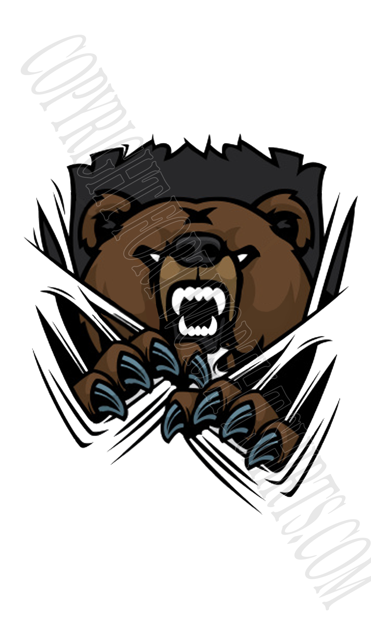 Bear football clipart vector library library Fort Worth T Shirts Design Page vector library library