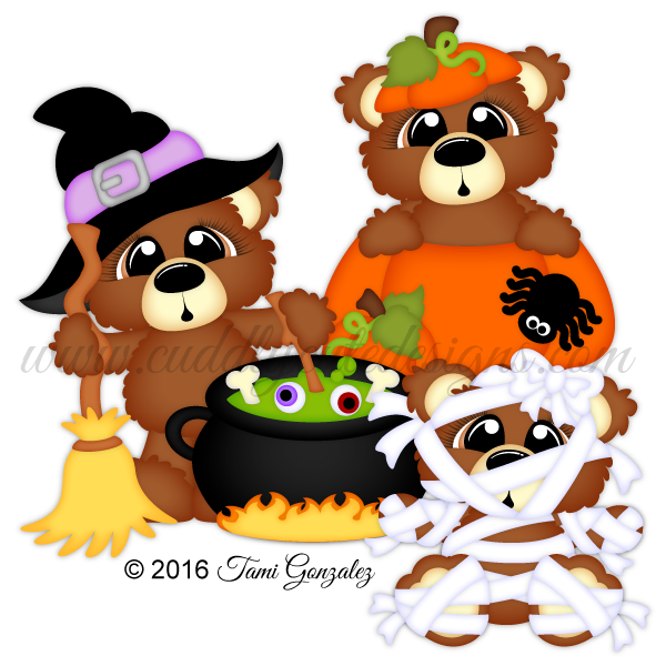 Bear halloween clipart jpg black and white Bears jpg black and white