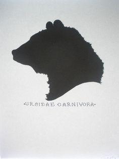 Bear head silhouette clipart vector free bear head silhouette | Embellish Christmas Stockings | Bear ... vector free