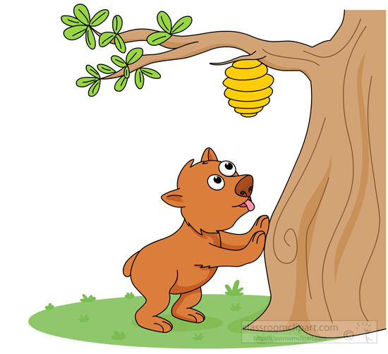 Bear in a tree clipart royalty free library Bear In Tree Clipart royalty free library