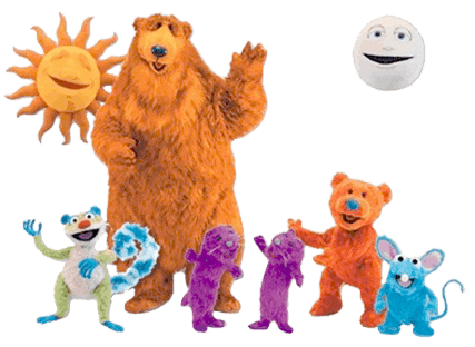 Bear in the big blue house clipart clip free stock Bear In the Big Blue House Characters transparent PNG - StickPNG clip free stock