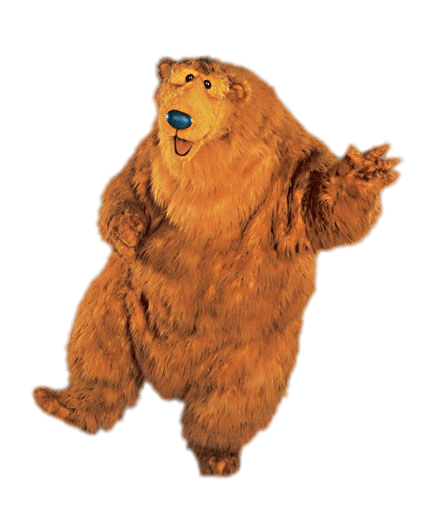 Bear in the big blue house clipart clipart freeuse library Bear In the Big Blue House Dancing transparent PNG - StickPNG clipart freeuse library