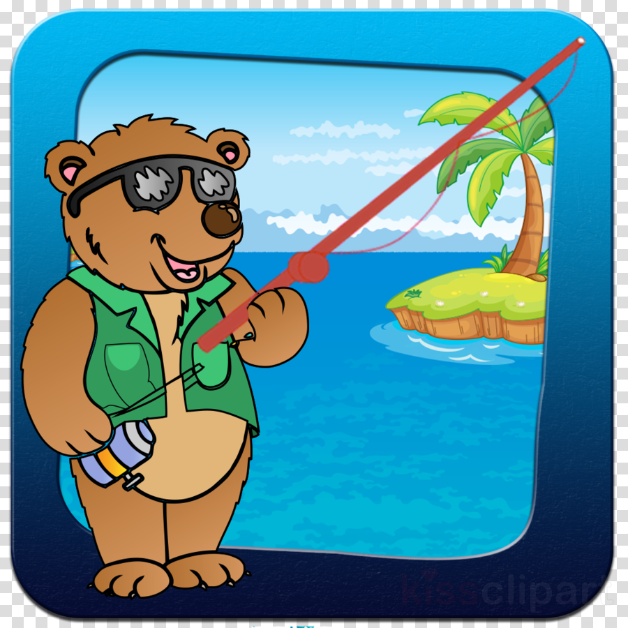 Bear in water clipart svg free library Bear Cartoon clipart - Cartoon, Water, Illustration, transparent ... svg free library