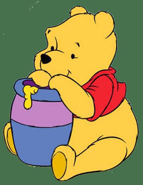 Bear inthe big blue house clipart jpg library download Bear Eating Honey Clipart - The Best Bear Of 2018 jpg library download