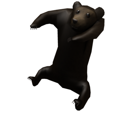 Bear looking over shoulder clipart png royalty free Shoulder Bear - Roblox png royalty free