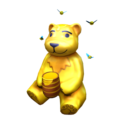 Bear looking over shoulder clipart picture freeuse download Honey Bear Shoulder Companion | Roblox Wikia | FANDOM powered by Wikia picture freeuse download