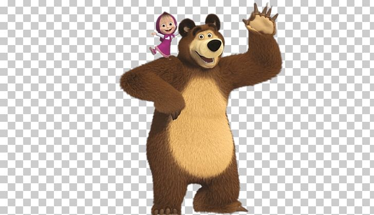 Bear looking over shoulder clipart svg black and white download Masha On Bear\'s Shoulder PNG, Clipart, At The Movies, Cartoons ... svg black and white download