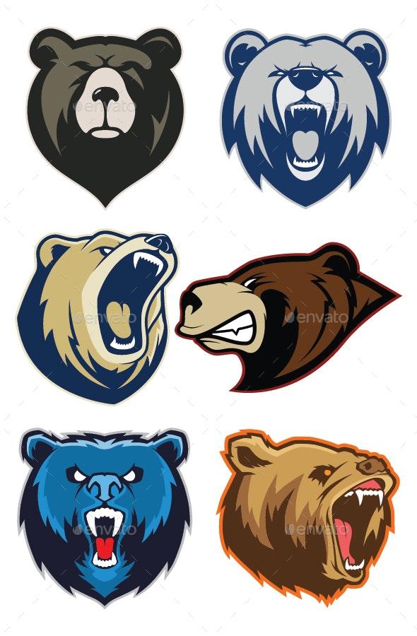 Bear mascot clipart png transparent Bear Mascot Logo png transparent