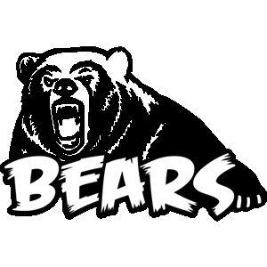 Bear mascot clipart vector freeuse download Grizzly Bear Mascot Clipart. 0e238601bea79211e8b850141f64ec | Bear ... vector freeuse download