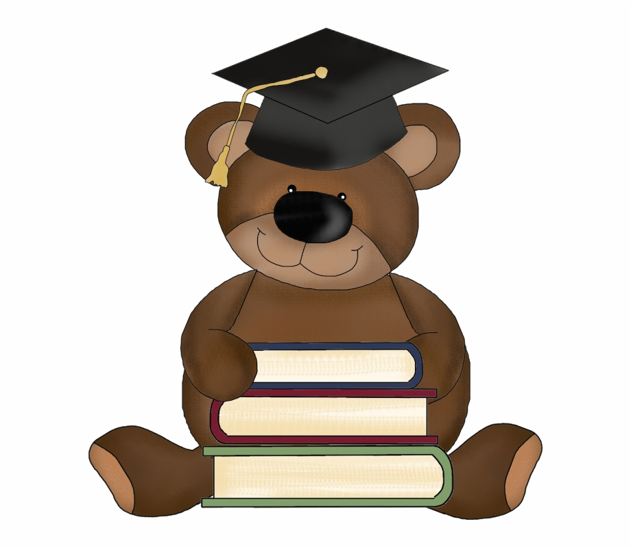 Bear running graduate clipart clipart black and white stock Free Graduation Clipart Png, Download Free Clip Art, Free Clip Art ... clipart black and white stock