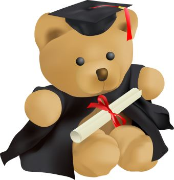 Bear running graduate clipart vector royalty free Free Baby Graduation Cliparts, Download Free Clip Art, Free Clip Art ... vector royalty free