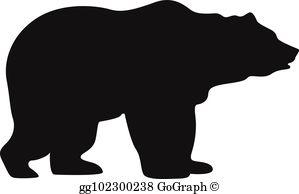 Bear silhouette clipart free clip art stock Bear Silhouette Clip Art - Royalty Free - GoGraph clip art stock