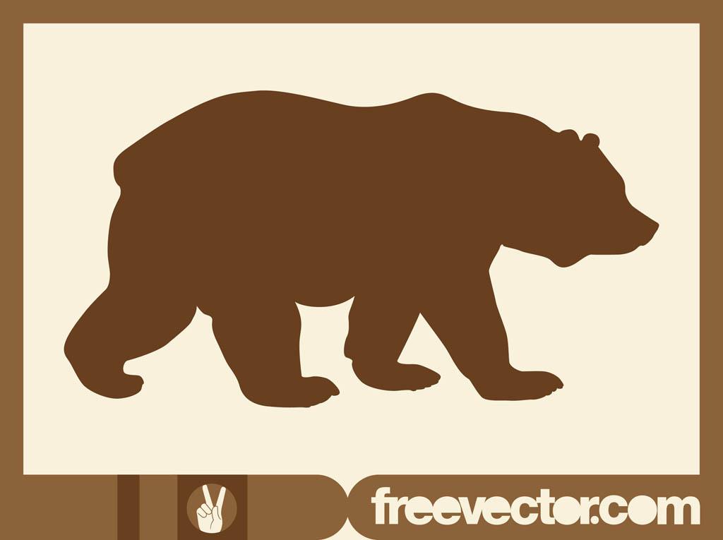 Bear silhouette clipart free clip art freeuse library Free Bear Silhouette, Download Free Clip Art, Free Clip Art on ... clip art freeuse library