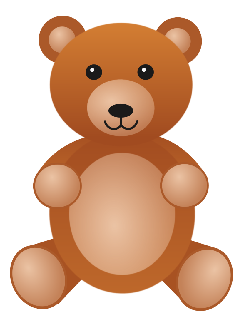 Bear stuffed clipart picture royalty free Cute bear teddy bear stuffed toy bear clipart free clip art ... picture royalty free
