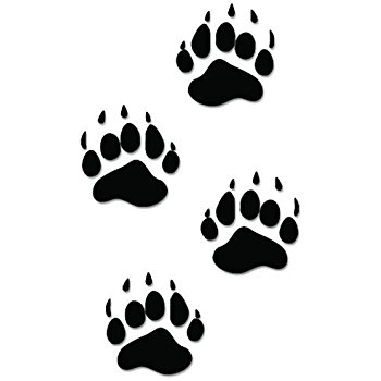 Black bear paw print clipart graphic Bear Paw Print | Free download best Bear Paw Print on ClipArtMag.com graphic