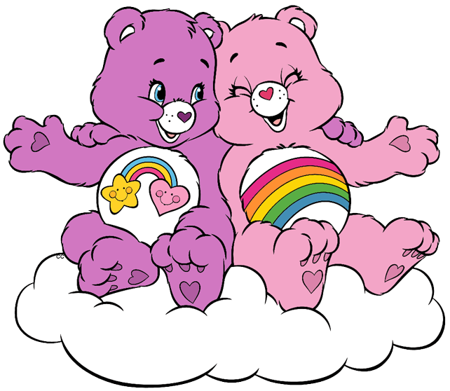 Caring heart clipart banner free library Care Bears and Cousins Clip Art | Cartoon Clip Art banner free library