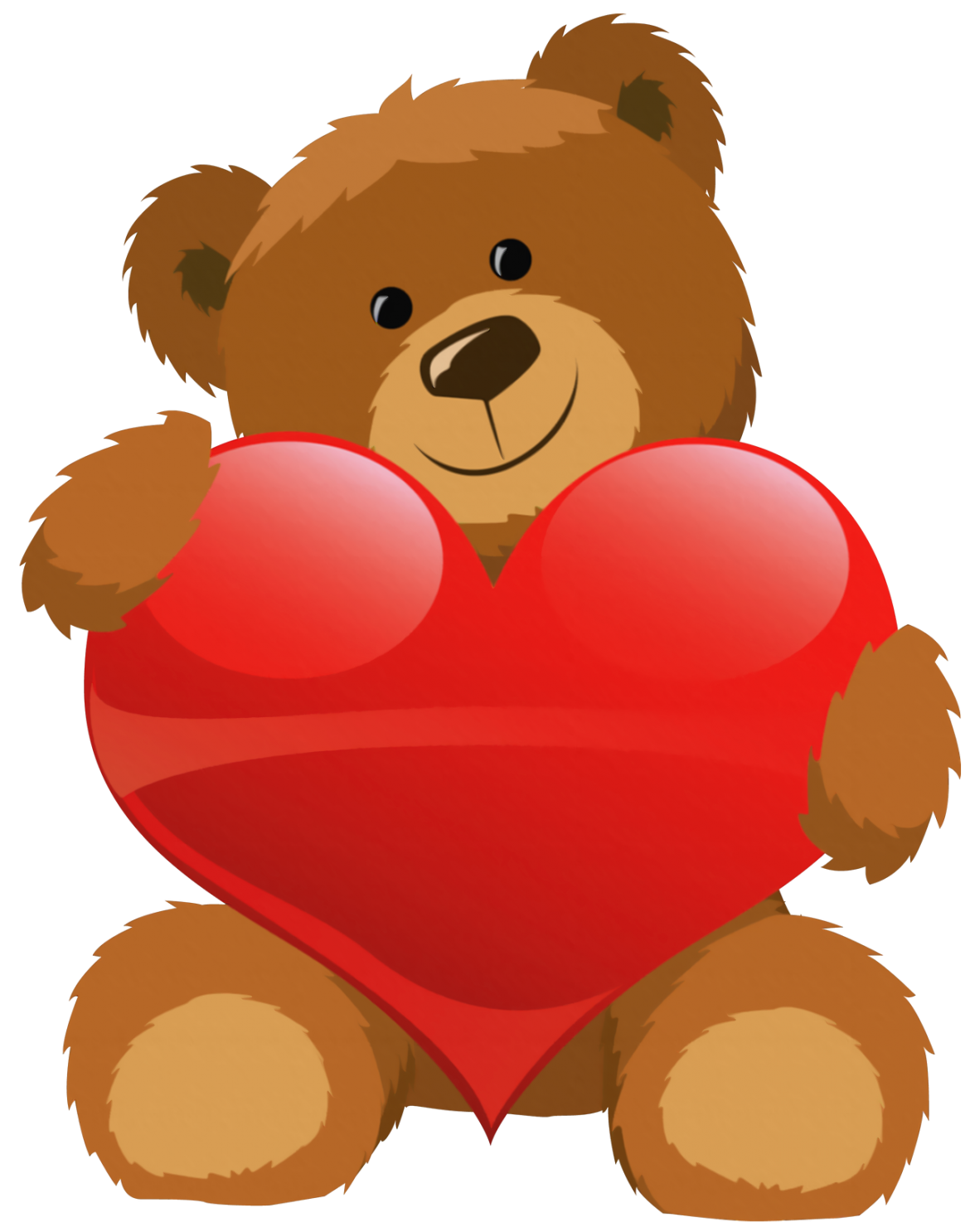 Bear with a heart clipart graphic free library cute-grizzly-bear-clipart-cute-bear-with-heart-png-clipart-picture ... graphic free library