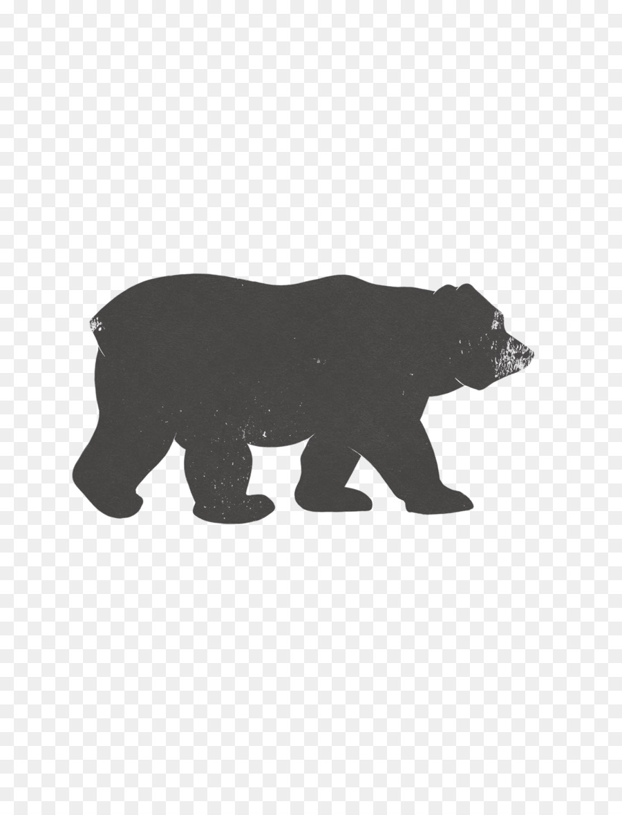Bear with cub clipart silhouette vector transparent library Free Bear And Cubs Silhouette, Download Free Clip Art, Free Clip Art ... vector transparent library