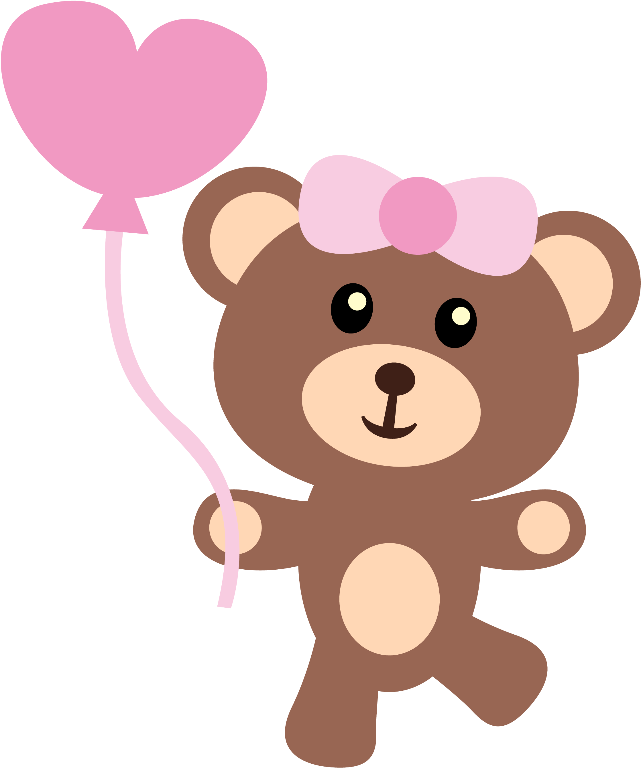 Bear with heart clipart vector free download Pin by Piatty Henao on BABY GIRL | Pinterest vector free download