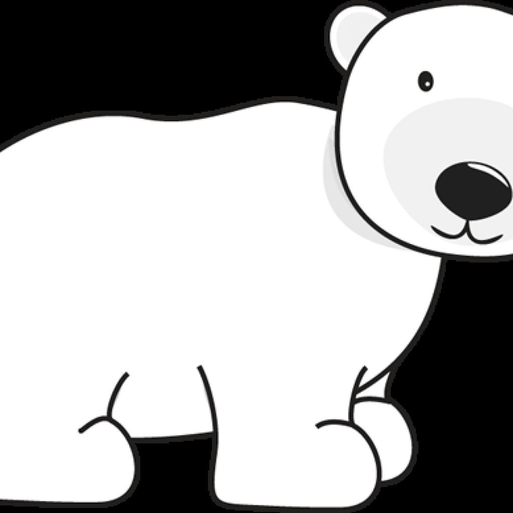 Christmas polar bear clipart banner black and white stock Polar Bear Clipart heart clipart hatenylo.com banner black and white stock