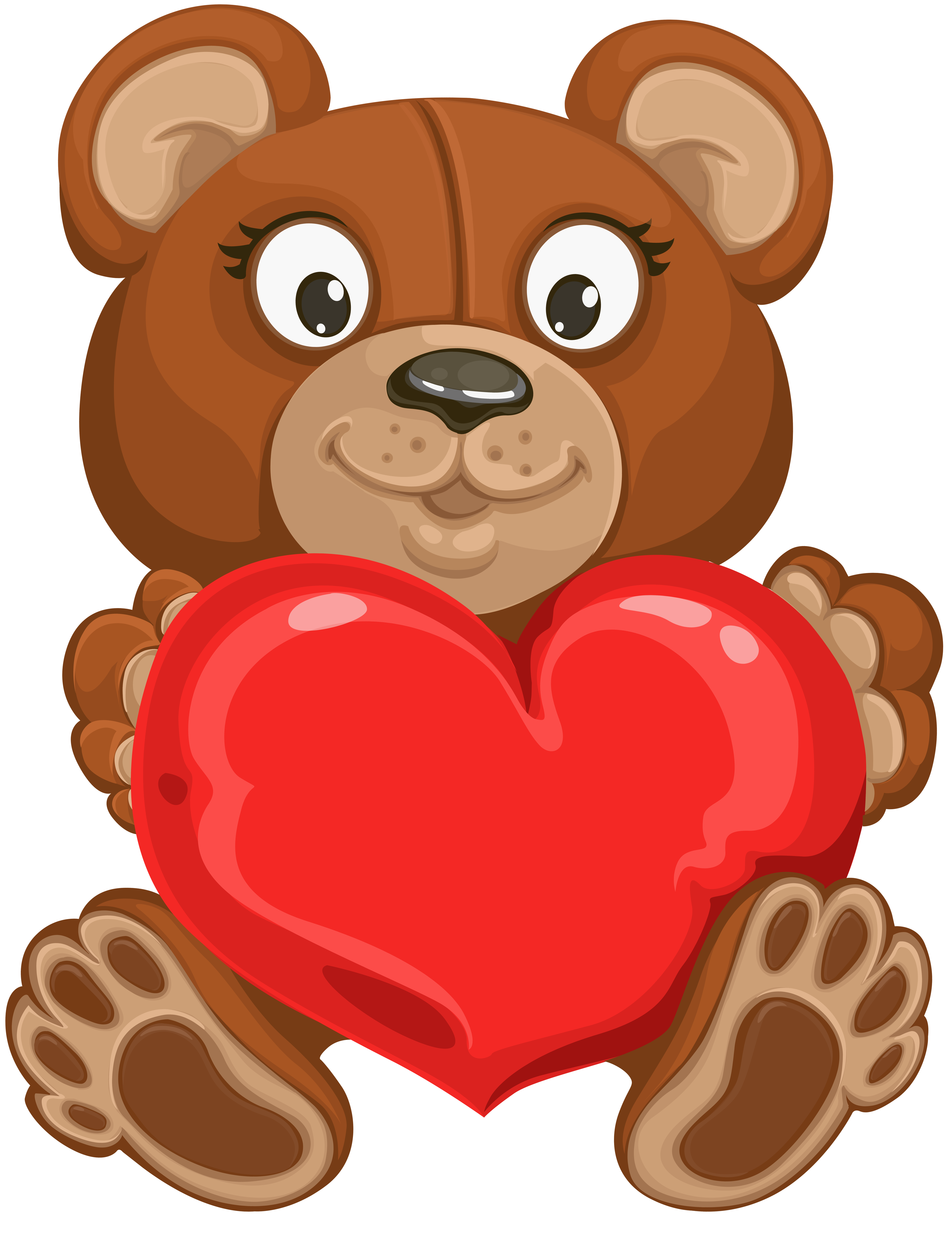 Bear with heart clipart graphic transparent stock Valentine Teddy Bear Clipart at GetDrawings.com | Free for personal ... graphic transparent stock