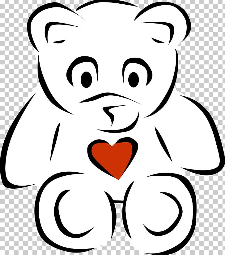 Bear with heart clipart black and white banner black and white stock Teddy Bear Giant Panda PNG, Clipart, Bear, Black, Black And White ... banner black and white stock