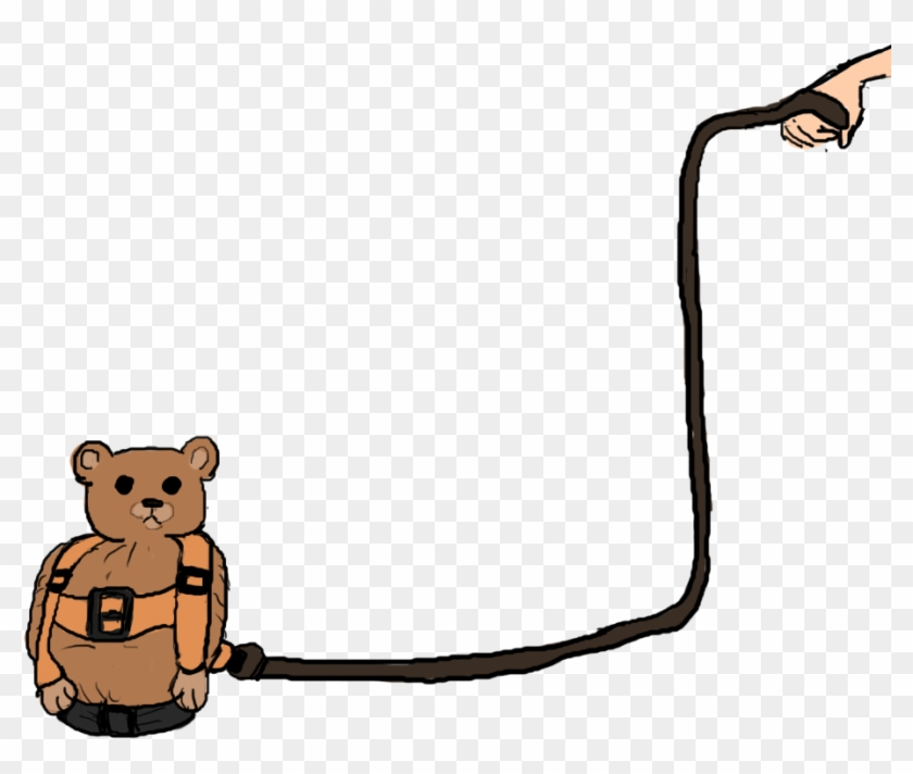 Bear with leash free clipart clipart freeuse download Leash Animals - Teddy Bear - Free Transparent PNG Clipart Images ... clipart freeuse download