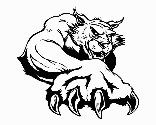 Bearcat clipart images png royalty free library Bearcat mascot clipart 2 » Clipart Portal png royalty free library