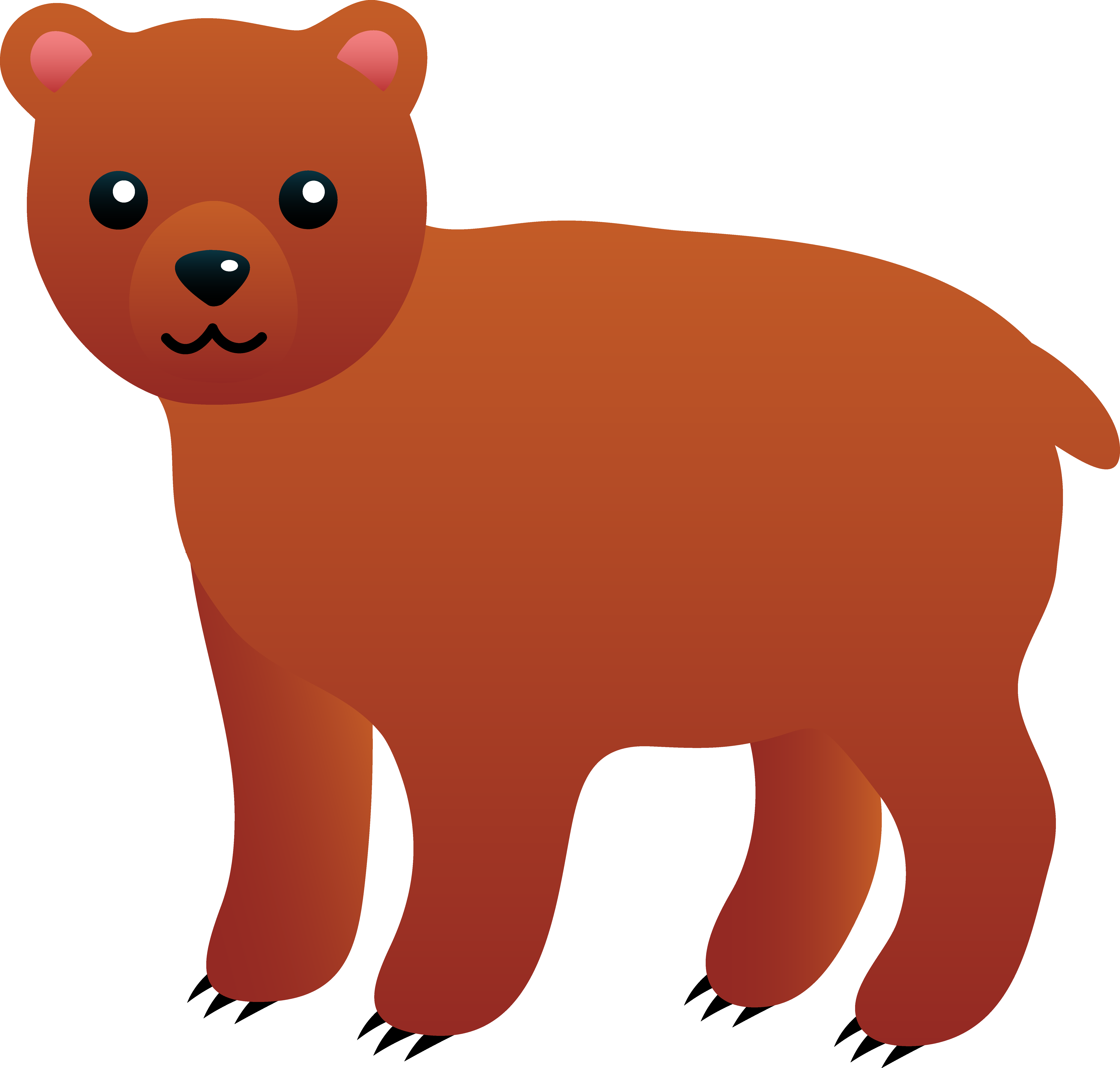 Bearcub clipart svg royalty free stock Free Bear Cub Cliparts, Download Free Clip Art, Free Clip Art on ... svg royalty free stock