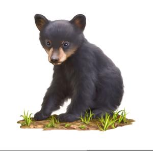 Bearcub clipart svg stock Black Bear Cub Clipart | Free Images at Clker.com - vector clip art ... svg stock